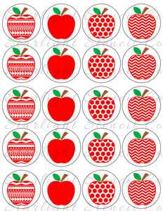 Teacher Apples PDF Tags