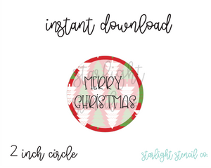 Merry Christmas trees PDF tags