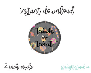 Trick or treat PDF tags