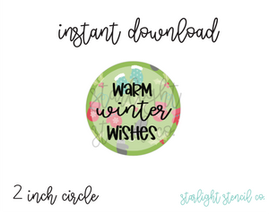 Warm Winter Wishes PDF tags