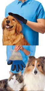 Pet Glove Hair Brush - Cleaning Massage and Grooming