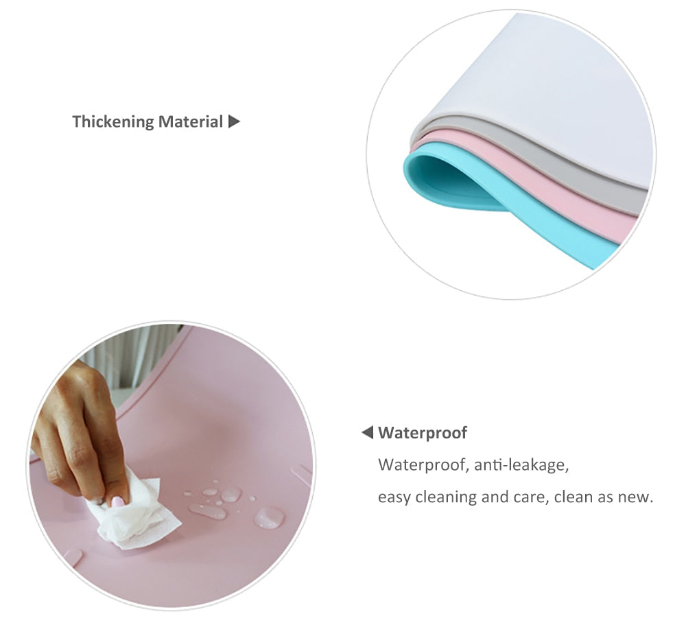Waterproof Placemat for Food & Water Bowls
