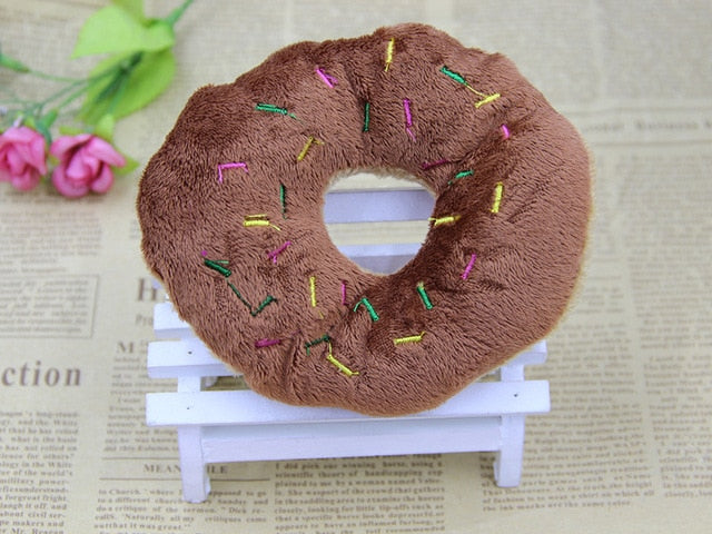 Doughnut Dog Toy