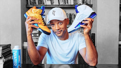 "Will Smith 50th Birthday Unboxing Video + Win ""Friends & Family"" Air Jordan 5s Satin Gold"
