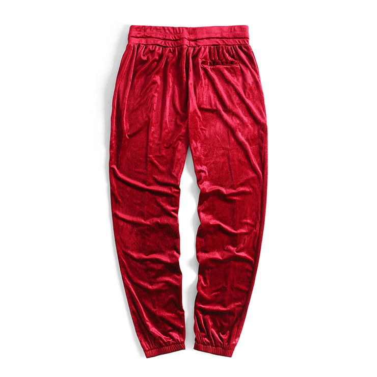 """VELVET SWEATPANTS"""