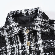 """TWEED B&W SHIRT"""