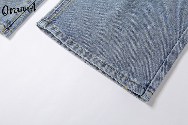 """DISTRESSED BAGGY JEANS 