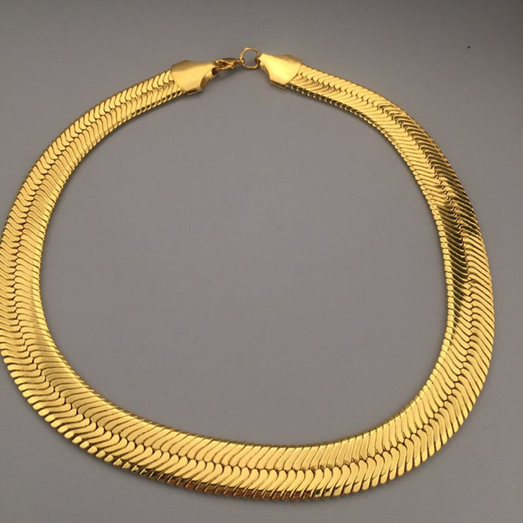 """GOLD HERRINGBONE CHAIN"""
