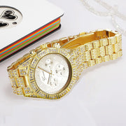 """CUBAN LINK WATCH SET"""