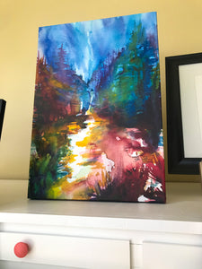 "Into The Woods 18 1/2"" x 26""  Gallery Wrap Canvas"