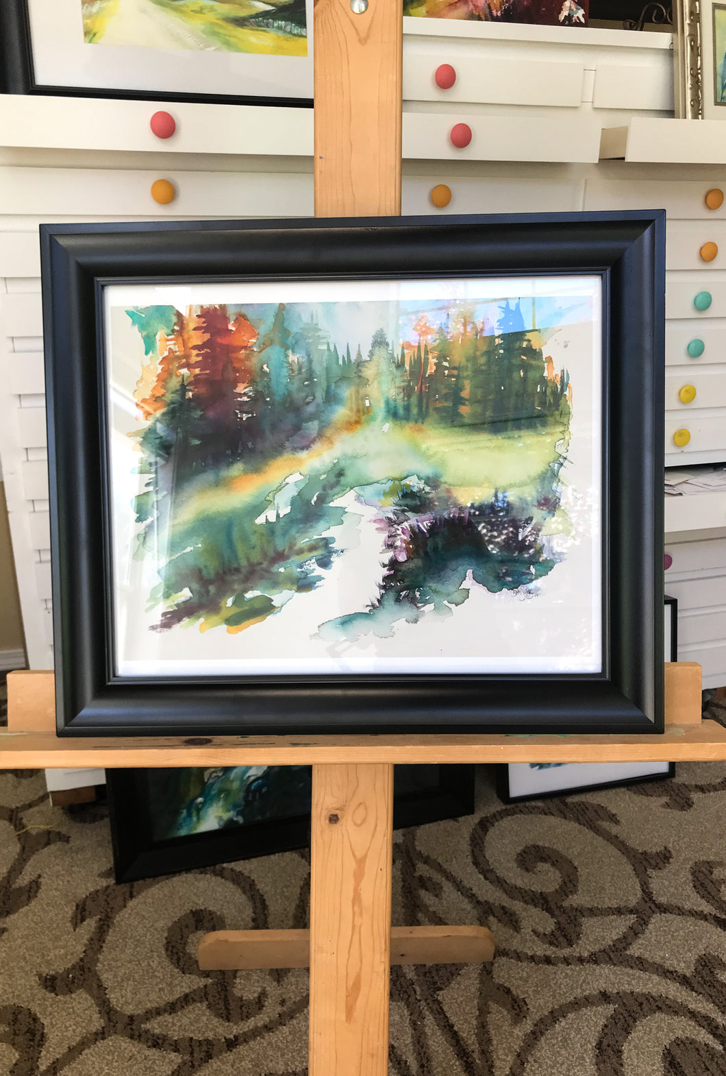 Breathe FRAMED Giclee Print