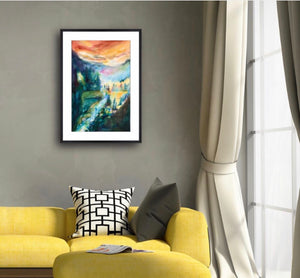 Wild And Free FRAMED Giclee Print