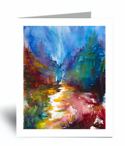 """Into the Woods"" Blank Card 10 Pack"