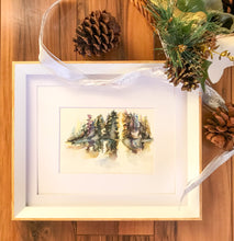 """Pine Trees"" Custom Painting"