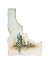 """The Clearing"" Idaho Print"