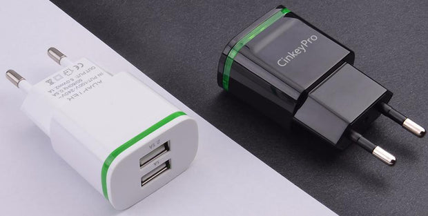 Usb Charger With Led Light