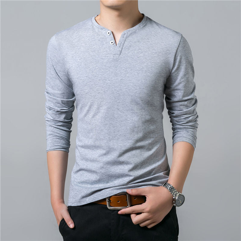 Flannel Long Sleeve For Men With Detail In The Collar