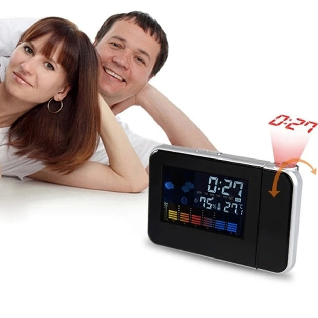 Digital Projection Clock