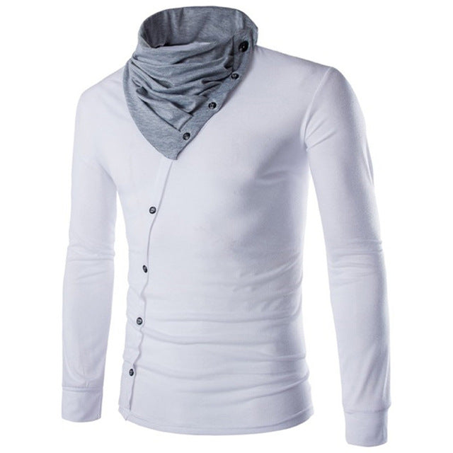 Men's Long-Sleeved Casual T-Shirt