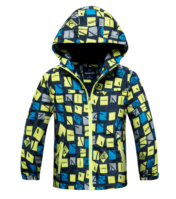 Jacket With Hood For Children