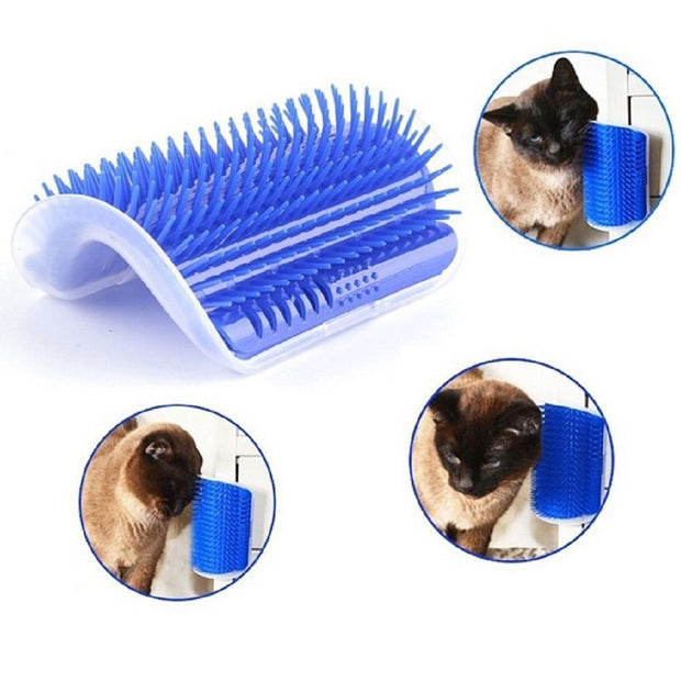 Brush For Cats In Blue Color