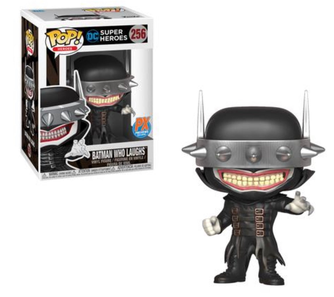 DC HEROES BATMAN WHO LAUGHS PX EXCLUSIVE POP VINYL FIGURE PRE-ORDER