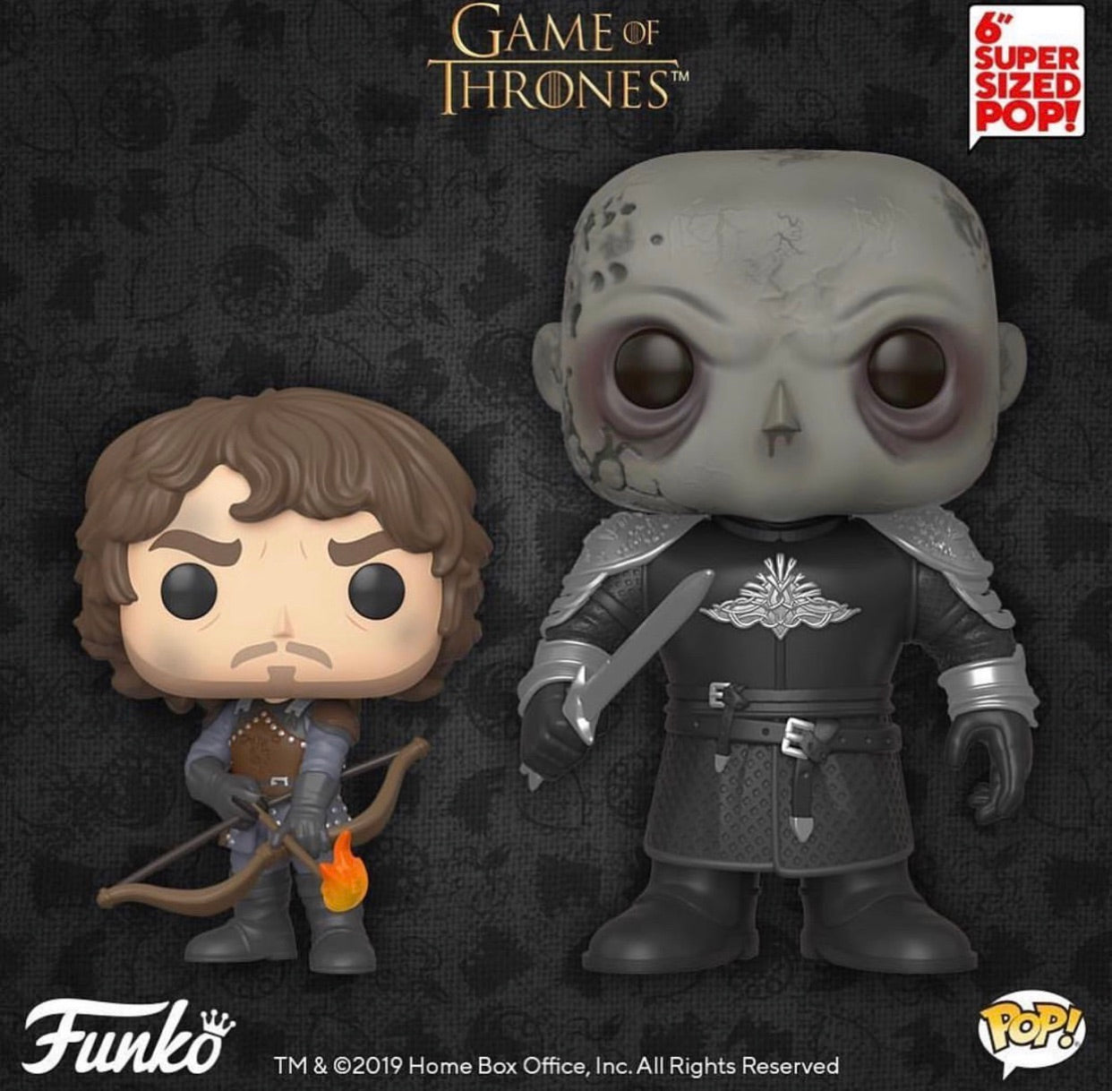 Pop! Game of Thrones Theon and Mountain Bundle