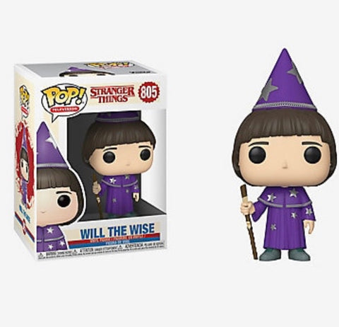 Funko Pop! Stranger Things Will the Wise Vinyl Figure