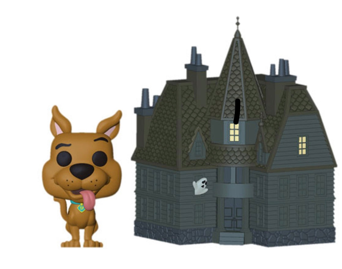 (Preorder) POP! TOWN - SCOOBY DOO - HAUNTED