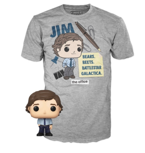 ASST Pocket POP&Tee: The Office- Jim (PREORDER)