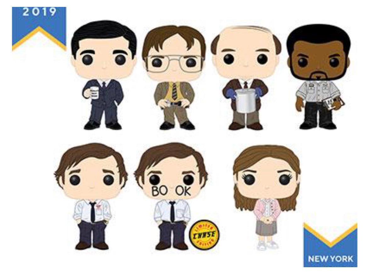 Pop! Television: The Office Set of 7 Chase Bundle