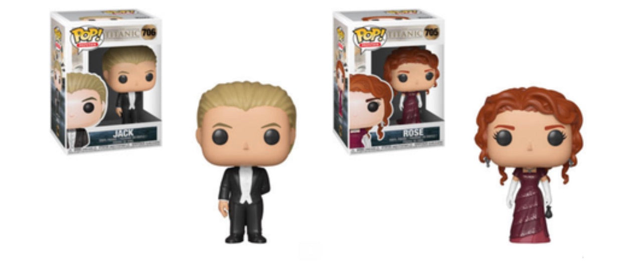 TITANIC FUNKO POP! COMPLETE SET OF 2 (PRE-ORDER)