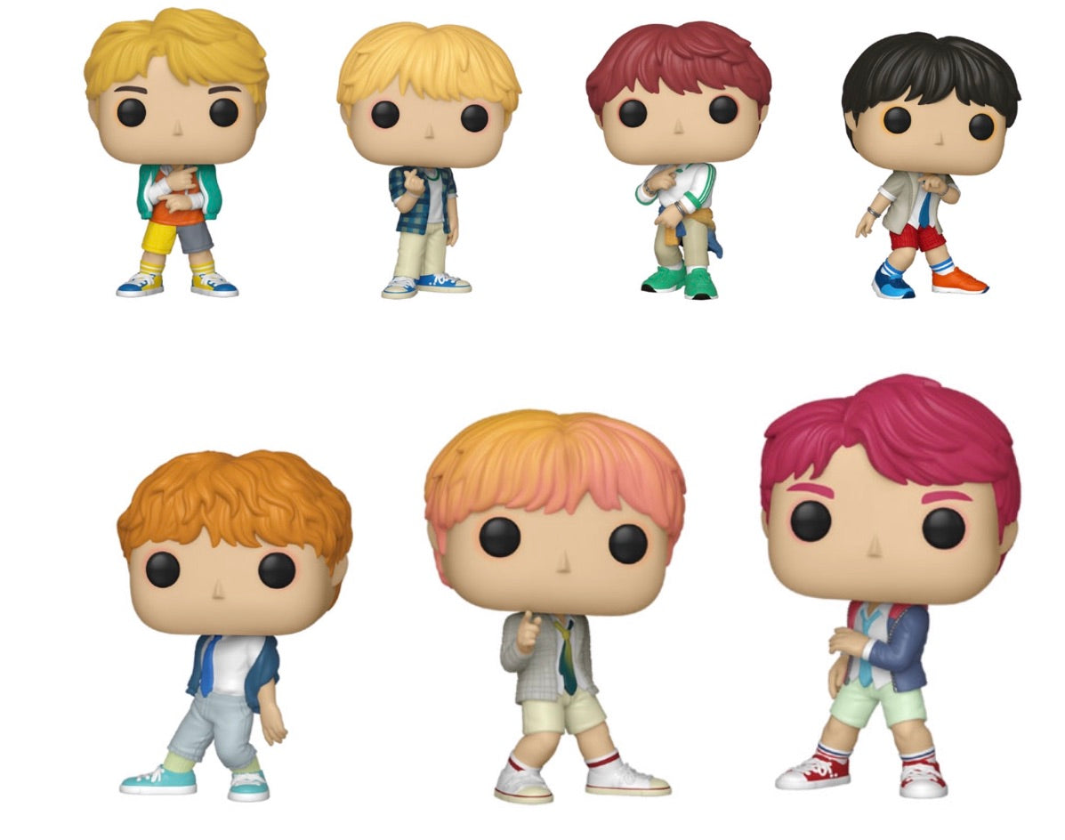 (Preorder) POP! ROCKS - BTS set of 7