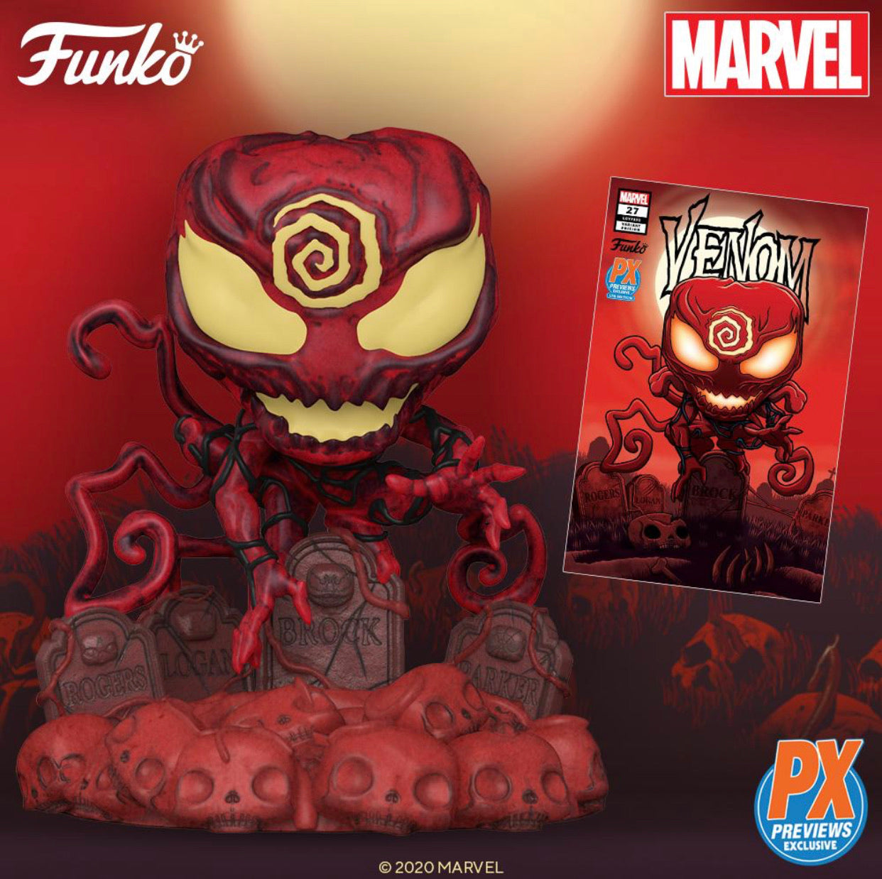 POP! Marvel: Absolute Carnage PX Deluxe (Comic Bundle)