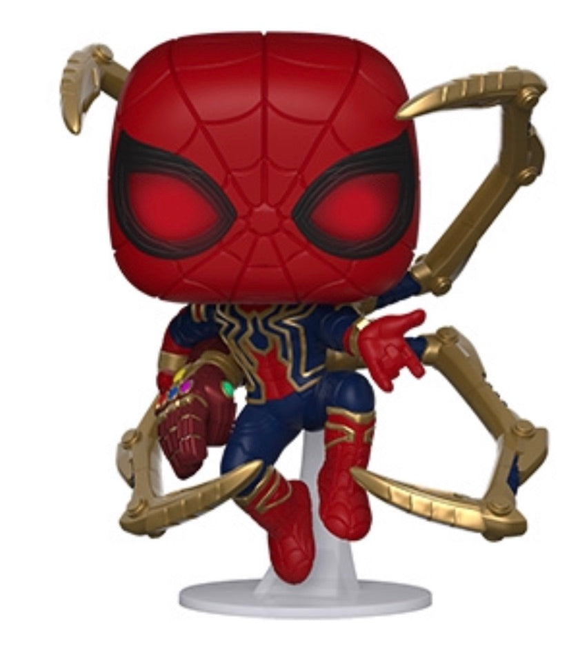 AVENGERS ENDGAME S3 FUNKO POP! IRON SPIDER (NANO GAUNTLET) (IN STOCK)