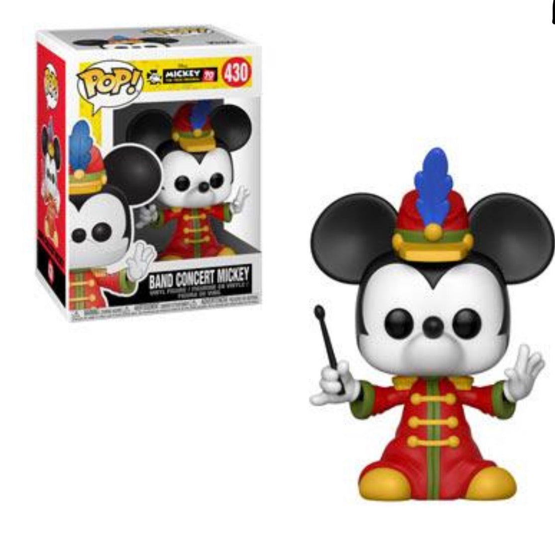 MICKEY'S 90TH FUNKO POP! BAND CONCERT MICKEY (PRE-ORDER)