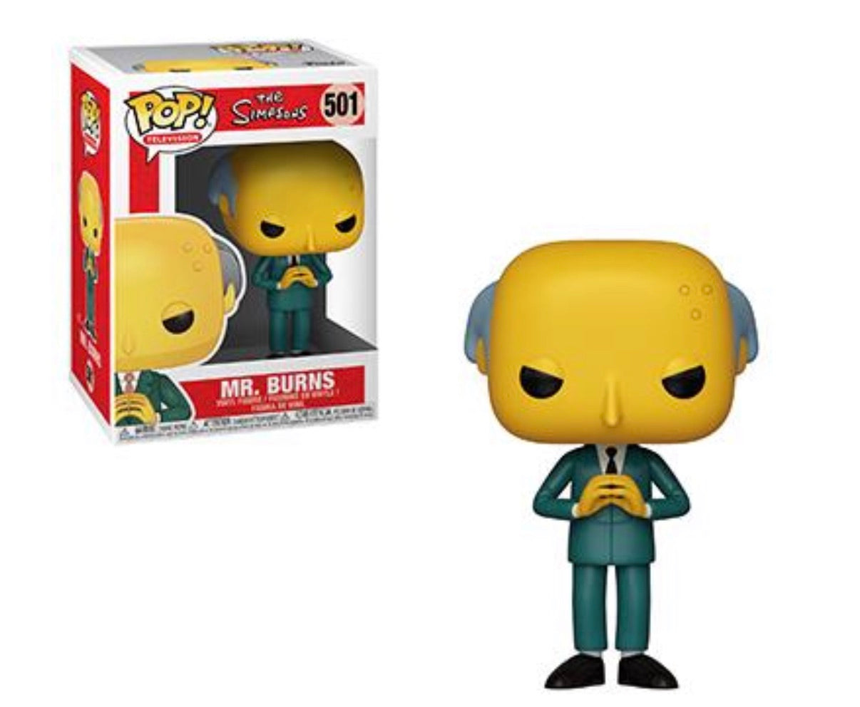 (Preorder) Pop! The Simpsons Mr.Burns