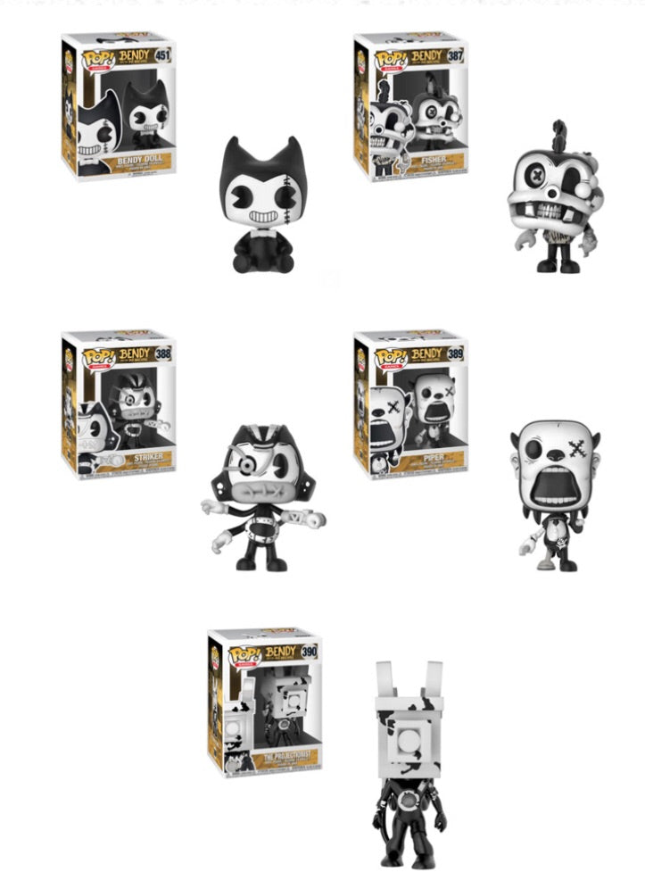 POP! Games - Bendy and the Ink Machine - Bundle