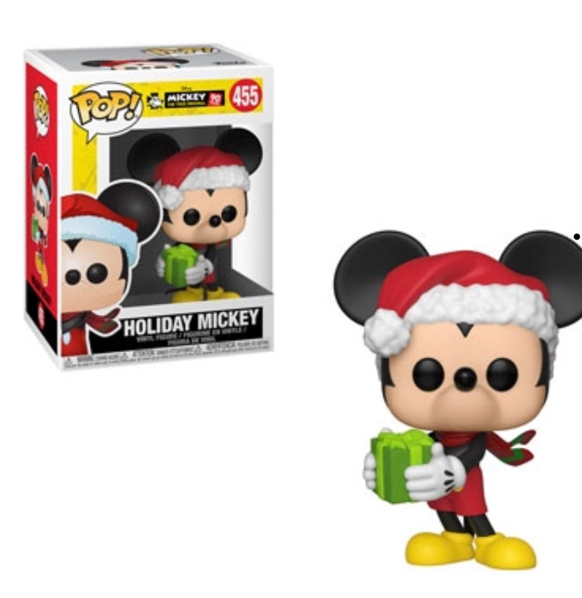 MICKEY'S 90TH FUNKO POP! HOLIDAY MICKEY (PRE-ORDER)