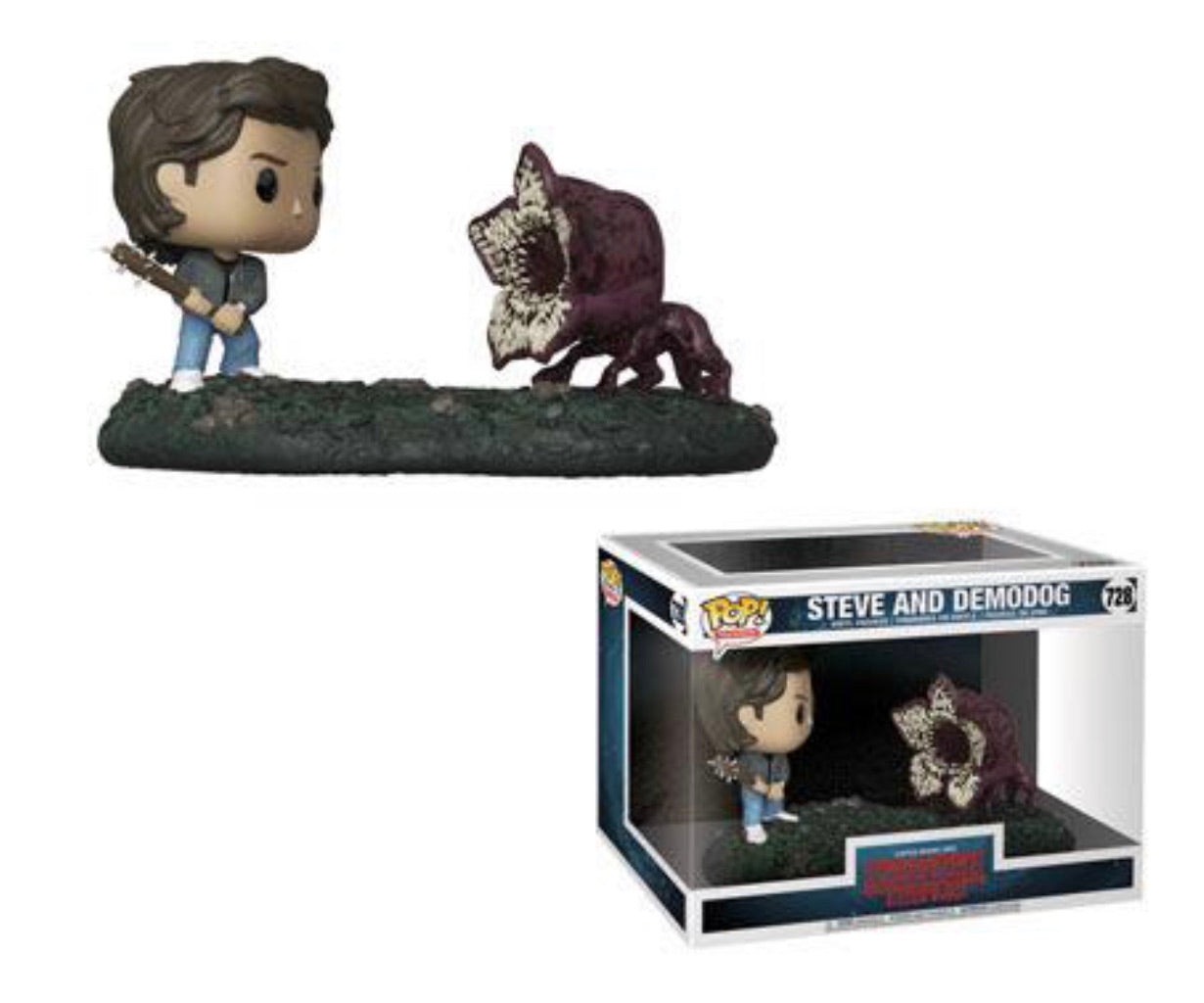 STRANGER THINGS FUNKO POP! STEVE & DEMOGORGON (PRE-ORDER)