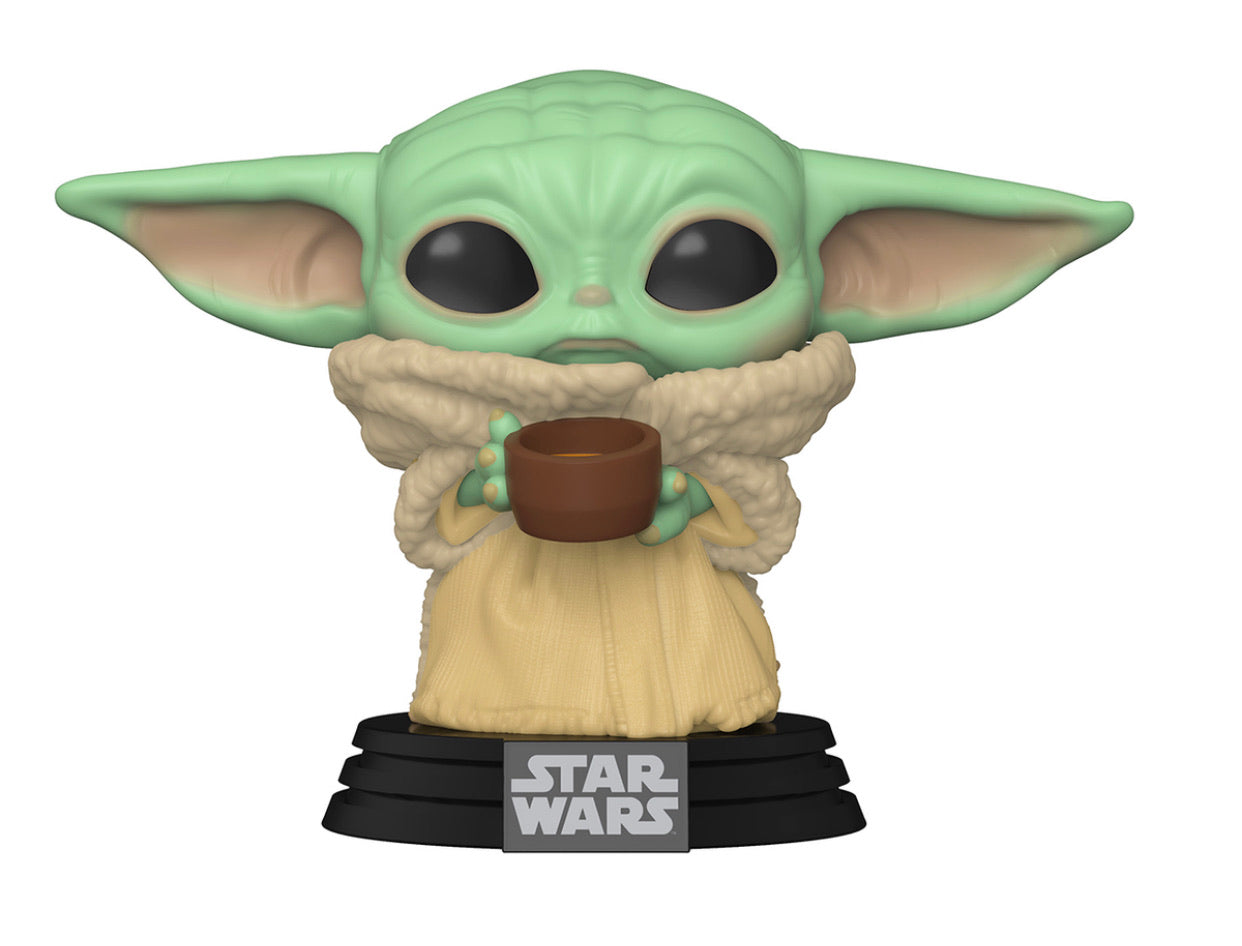 (PREORDER)POP Star Wars: Mandalorian - The Child W/Cup