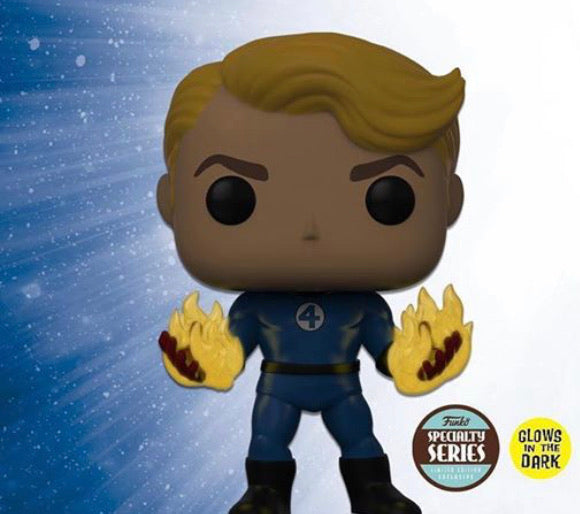 Specialty Series Exclusive: Human Torch Pop!GITD (IN STOCK)