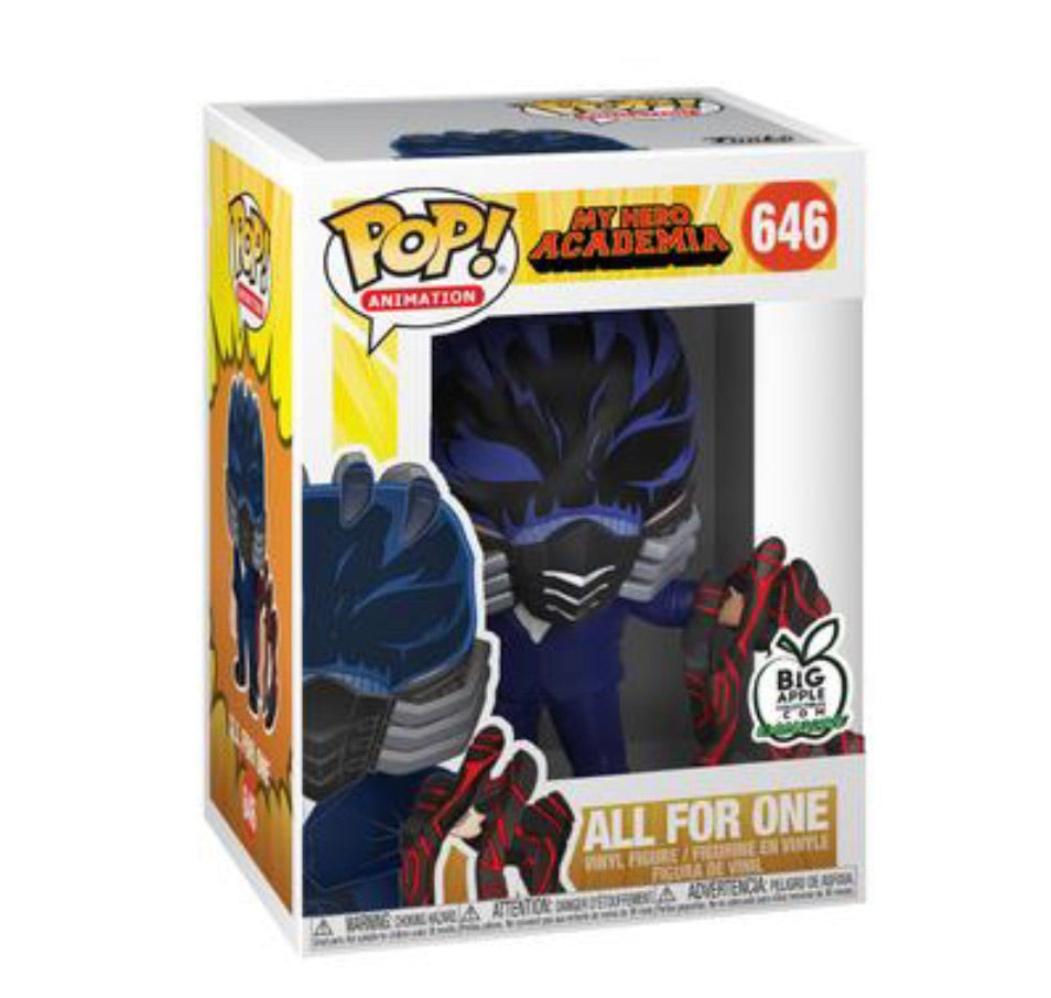 MY HERO ACADEMIA FUNKO POP! ALL FOR ONE (BATTLE HAND) (BIG APPLE EXCLUSIVE) (PRE-ORDER)