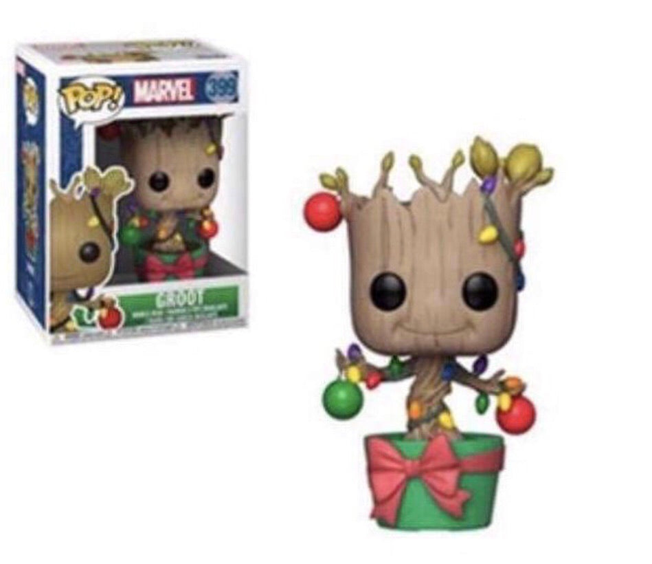 Pop! Marvel: Holiday - Groot with Ornaments