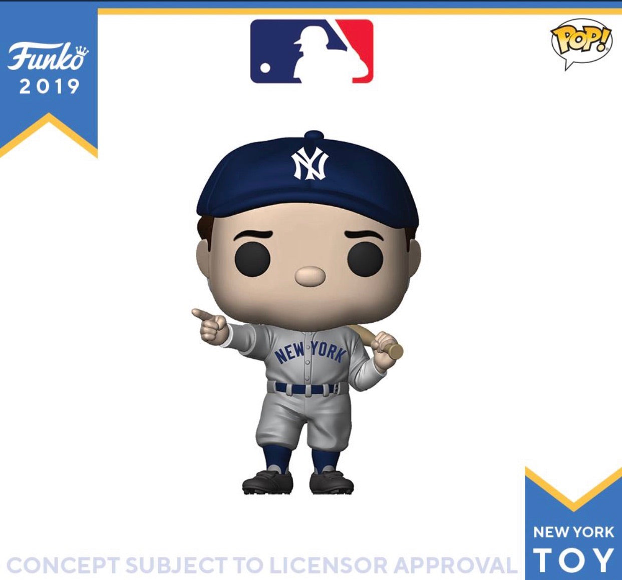 (Preorder) Pop! Sports Legends: Babe Ruth