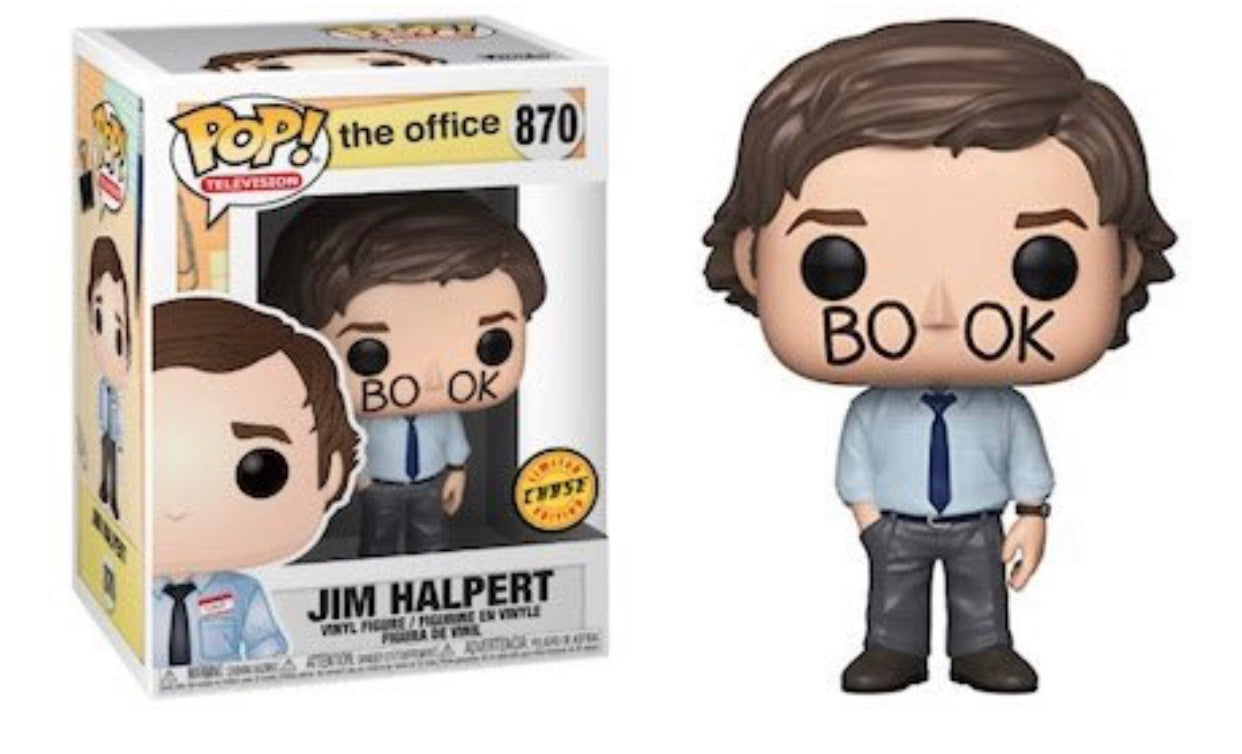 The Office- Jim Halpert Bookface Chase Variant