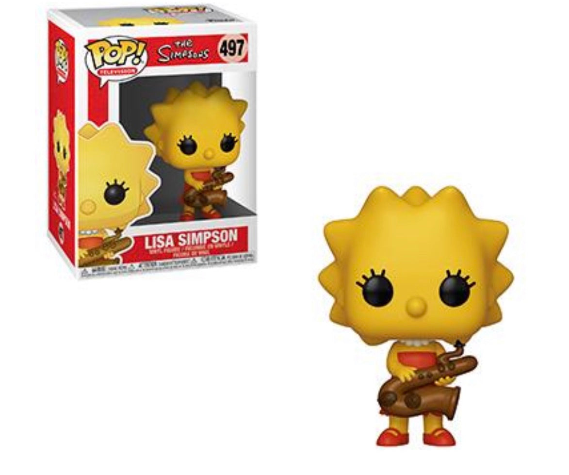(Preorder) Pop! The Simpsons Lisa Simpson