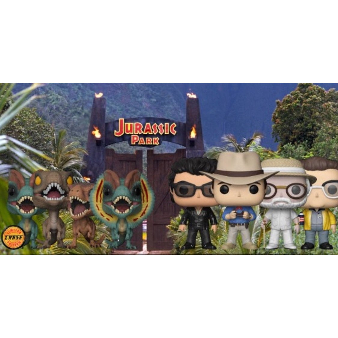 Pre-Order:Jurassic Park Bundle with Chase!