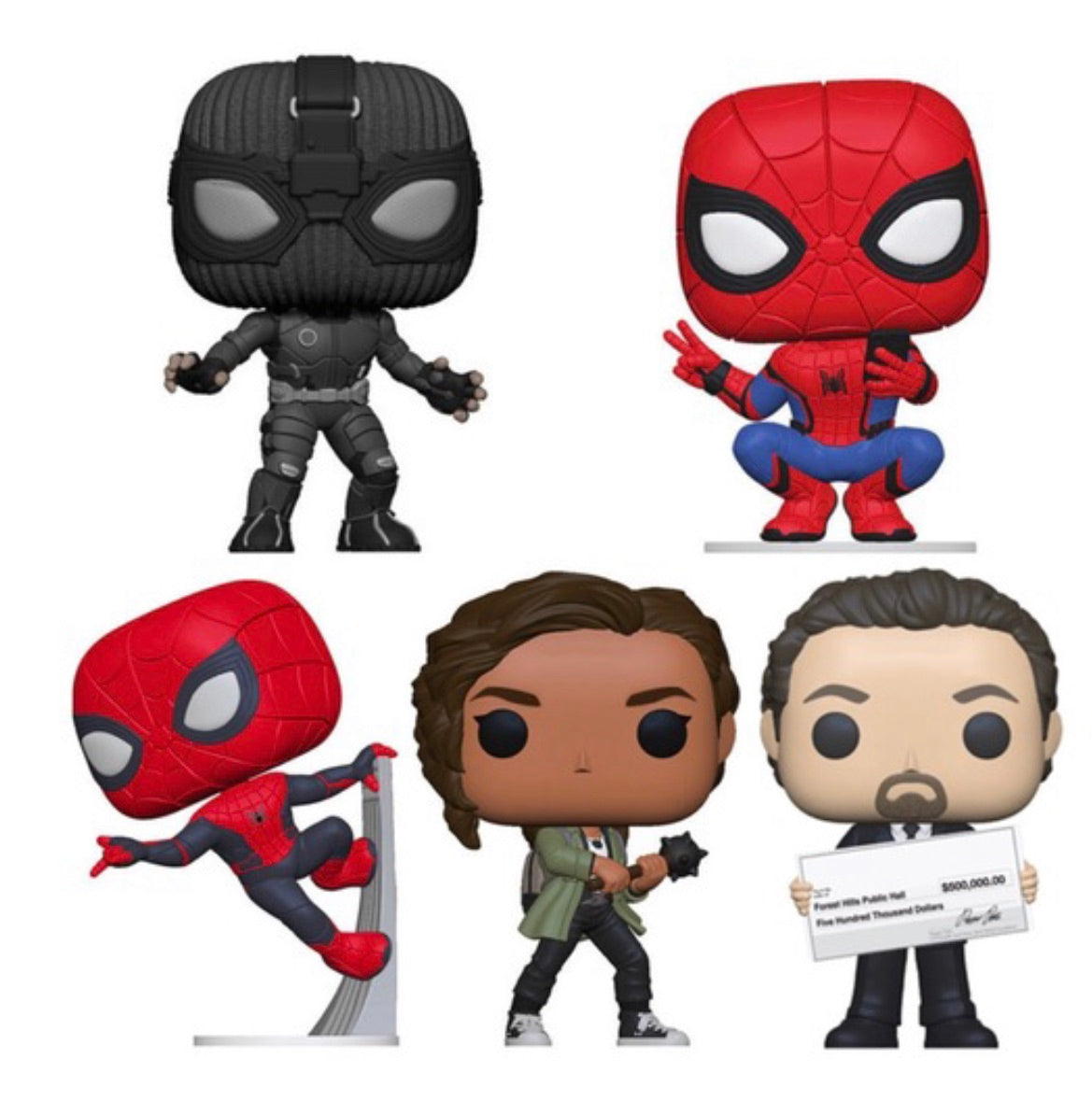 PRE-ORDER - POP! Spider-Man Far From Home Bundle of 5