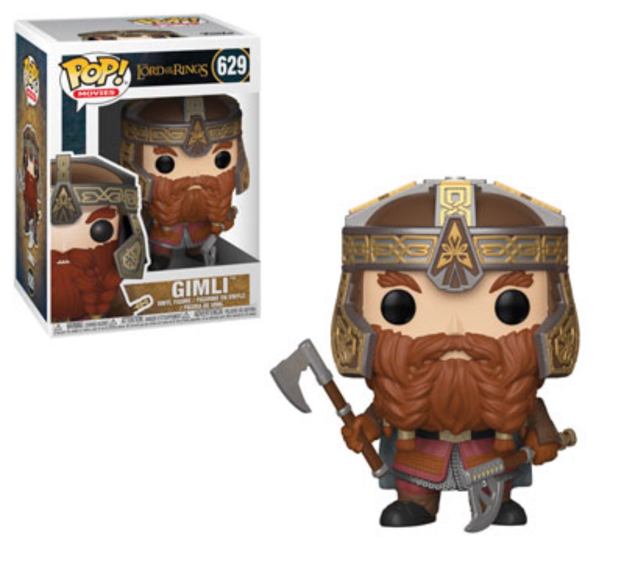(Preorder)Pop! Movies: Lord of the Rings Gimli